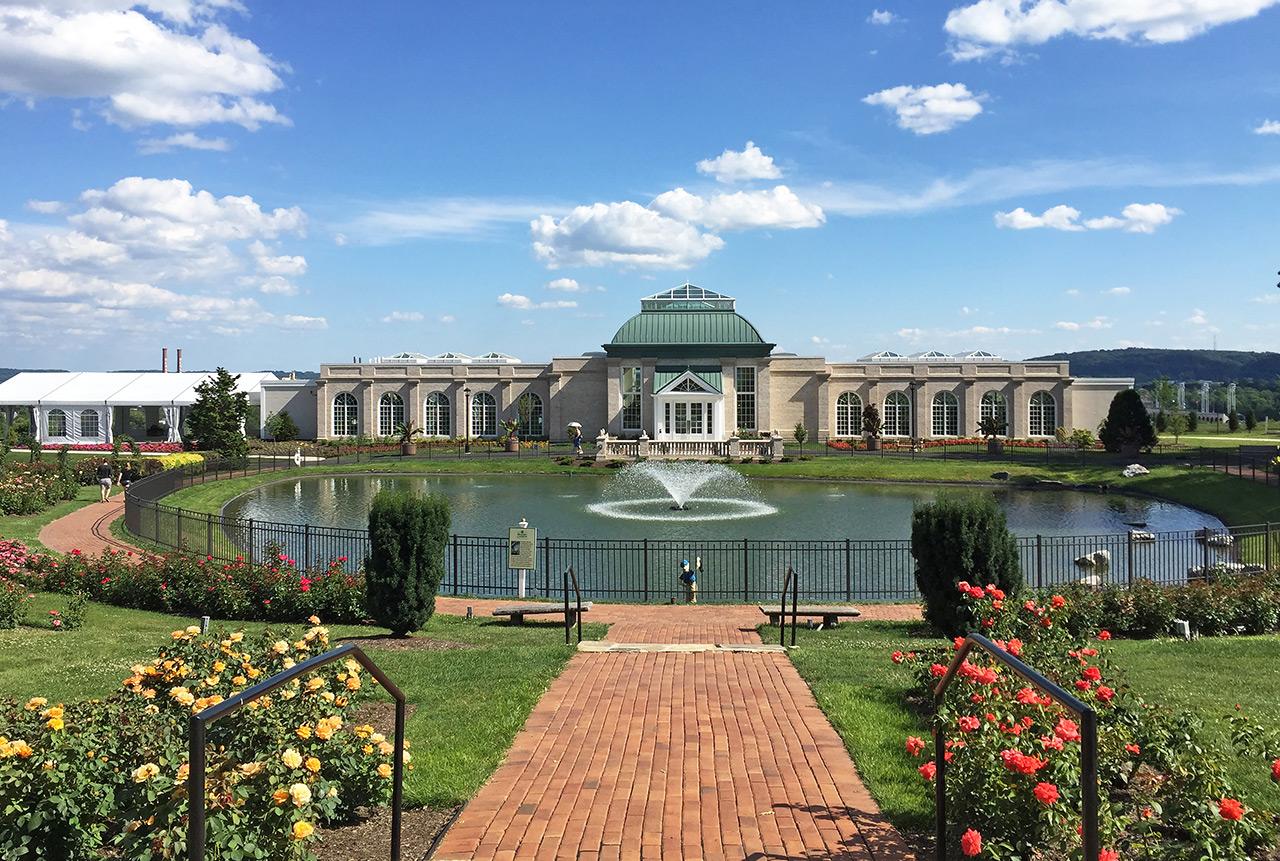Hershey Gardens Conservatory Garden Ftempo